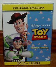 TOY STORY- COLECCION DVD+LIBRO-DISNEY-PIXAR-NUEVO-PRECINTADO-ANIMACION