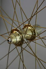 "26"" MTB V-Brake Laufradsatz in gold"