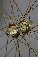 """26"""" MTB V-Brake Laufradsatz in gold"""