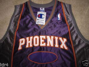 Phoenix Suns Team Issue Champion NBA Game Jersey 52 2XL Nwt Vintage