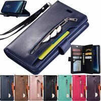 9 Card Holder Wallet Flip Leather Case Cover For Huawei Mate 10 Lite/Pro/Mate 9