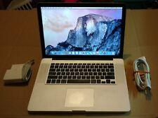 Apple MacBook Pro 15 in. Mid 2012 8GB RAM 500GB HDD Intel i7 2.3 GHZ Nvidia 650M
