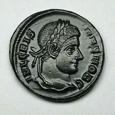 EXTREMELY FINE CRISPUS 316-326 Follis Siscia Ancient Authentic Roman coin