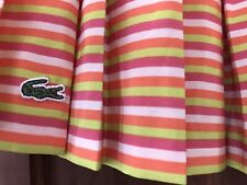 VINTAGE LACOSTE TENNIS STYLE SUMMER SKIRT SIZE EU40 /UK 12/14