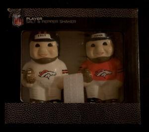NFL Denver Broncos Player Salt and Pepper Shaker Set
