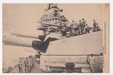 R. Marina Italiana, Revisando los Canones de un Acorazado Postcard B644