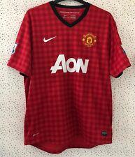 Nike Dri Fit Manchester United Man Utd 2012 2013 Home Football Shirt Size XL