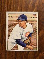 1950 BOWMAN BASEBALL card ~~~ #196 DOYLE LADE ~~~ CHICAGO CUBS