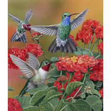 5D DIY Full Drill Diamond Painting Flower Birds Cross Stitch Kits Art Wall Decor