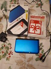 Nintendo 3DS XL Consola Azul Y Negro