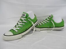 CONVERSE All Star Chuck Taylor Low Top Trainers, Green, Size UK 7, Eur 40