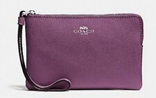 "*NEW ""COACH"" Corner Zip - Wristlet Color MAUVE - NEW WITH TAGS!!!"