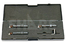 Shars 12 916 58 Mini Indexable End Mill Set With Tpg 22 Carbide Insert P