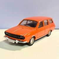 Renault 12 Break Orange Colour by Solido France #22 Vintage 03/1975 Used!