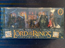 Lord Of The Rings Helm's Deep Battle Set Action Figures 2003