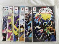 RAI AND THE FUTURE FORCE Comic Books #10 #11 #12 #13 #15  #16 1993 VALIANT