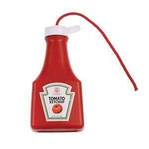 Fake Squirt Ketchup Sauce Bottle Heinz Classic Funny Prank Gag Joke Novelty Prop