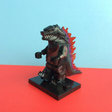 1X King of the Monsters Godzilla Mini Figure Toy Rare Red
