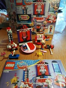 Lego DC Super Hero Girls 41236 Harley Quinn Dorm *COMPLETE WITH BOX*