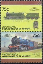 1915 HR / CR rivière classe (highland / Caledonian railway) train timbres / loco 100