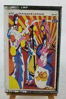 "XTC ""Oranges and Lemons"" Cassette Virgin/Geffen #M5G24218 - Circa 1989"