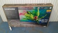 "Samsung QN65Q7C CURVED 65"" QLED 4K UHD 7 Series Smart TV 2018 PLEASE READ READ"