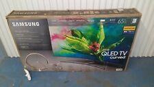 "Samsung QN65Q7C CURVED 65"" QLED 4K UHD 7 Series Smart TV 2018 PLEASE READ READ"