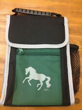 Lunch Box With Galloping Horse Green Black Kids/Adult