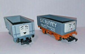 Thomas & Friends 2002 S.C. Ruffey #77041 & Troublesome Truck #77047 Bachmann HO