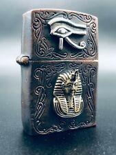 3D Custom Egyptian Lighter Case - Fits Zippo Insert - Stunning Piece