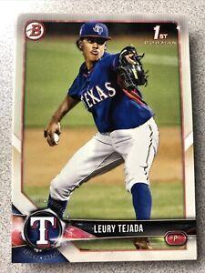 Leury Tejada 20 Card Rookie Lot 2018 Bowman Draft Texas Rangers
