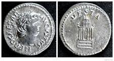 Roman Empire - NERO CAESAR AVGVSTVS - Solid Silver Denarius