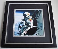 Felix Baumgartner SIGNED Framed LARGE Square Photo Autograph display Space COA