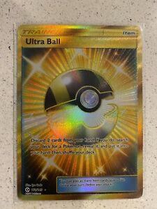 Ultra Ball - 161/149 - Secret Rare Sun & Moon (Base Set) Singles near MINT