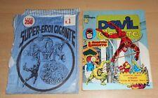 ED.CORNO SERIE DEVIL GIGANTE  N° 25 1977 CON BUSTA ORIGINALE APERTA  N° 1 !!!!!