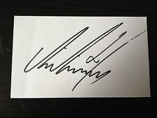 Ali al habsi-Leer y Omán goalkeper-Firmado tarjeta blanca