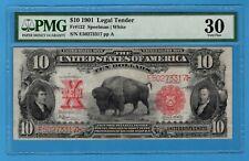 Fr. 122. 1901 $10 Legal Tender Note. PMG Very Fine 30
