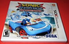 Sonic & All-Stars Racing Transformed Nintendo 3DS *New-Sealed-Fast Ship!