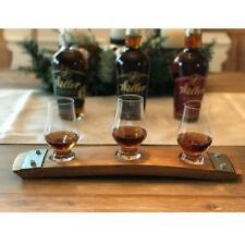 BarrelFlights™ Premium Whiskey Flight With Three Glencairn Crystal Glasses