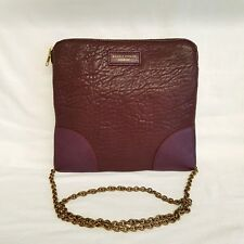 Deadly ponies chain leather crossbody bag