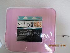 Soho Loft Kids Full 6Pc Sheet Set Includes 4 pillowcases Sz Full Nip