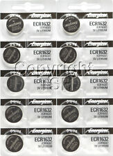 Cr1632 Cr 1632 Lithium Battery 0%Hg 10 pc 1632 Energizer Watch Batteries