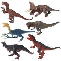 6 Types Dinosaur Toys Action Figure Model Kid Children Toy Gifts Plastic