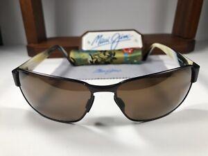 Maui Jim Black Coral MJ 249-19M Matte Bronze Sunglasses W/HCL Bronze Polarized