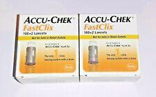 Accu-Chek FastClix Lancets, 200+4, Exp 9/2021 New & Sealed!!