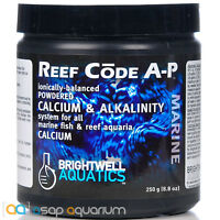 Brightwell Reef Code A Powder 250 grams Calcium Fast Free USA Shipping