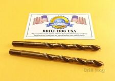 "Drill Hog 3/32"" Drill Bit 3/32"" Cobalt Drill Bit M42 Twist Lifetime Warranty"