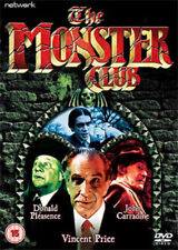 The Monster Club DVD (2006) Vincent Price ***NEW***