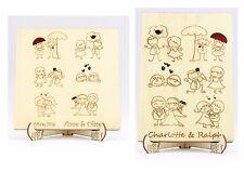 Gästebuch, Hochzeitsbaum, Holz, Holz-Gästebuch, Individualisiert, Holz-Buch