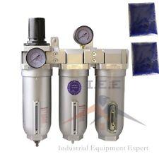 34 Heavy Duty 3 Stage Compressed Air Cleaner Dryer Regulator Filter Desiccant